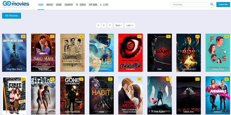 gomovies - Similar websites like 123movies