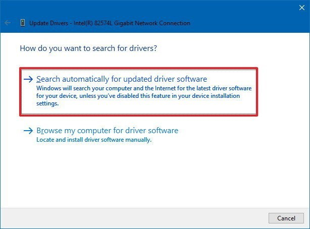 Downloading drivers from Microsoft 02