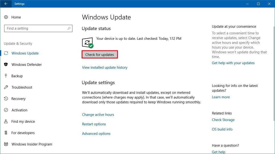 How to apprise drivers using Windows Update