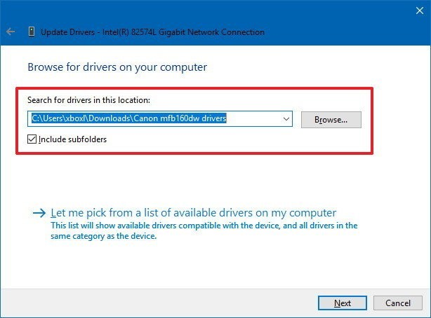 Installing drivers manually -02