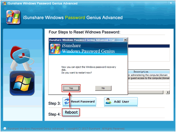 user-guide eject windows password recovery disk 2