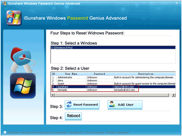 user-guide eject windows password recovery disk
