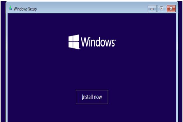 user window installation 10.