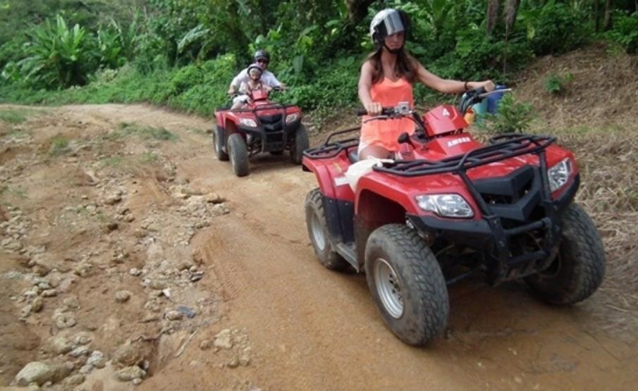 ATV Riding women
