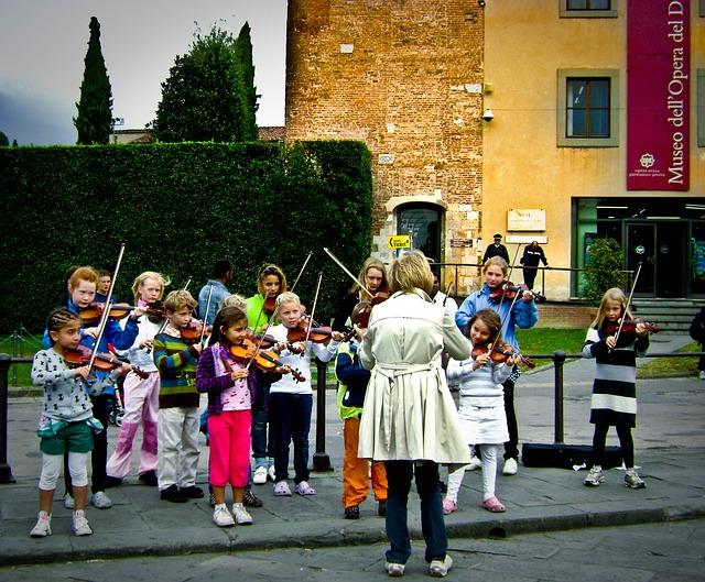 Music Plays by children