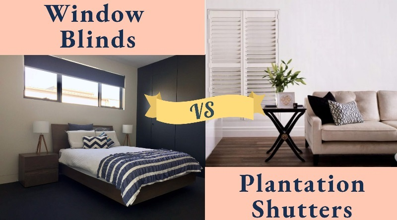Window Blinds Vs Plantation Shutters