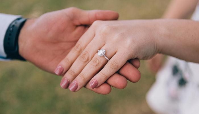 diamond cut engagement rings