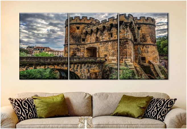 castle wall arts